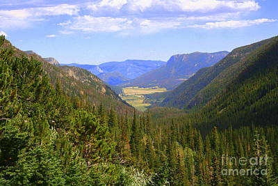 Photograph - Valley View by Julie Lueders