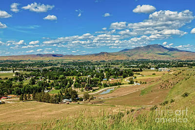 Photograph - Valley View by Robert Bales