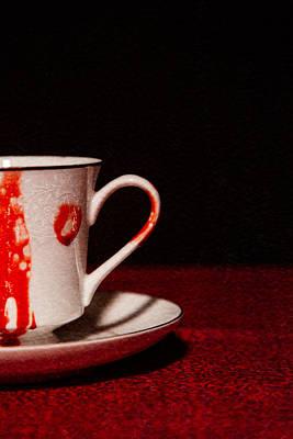 Vampires Tea Art Print