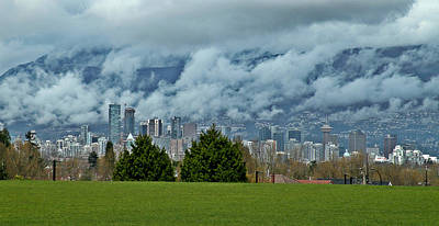 Photograph - Vancouver British Columbia by Brian Chase