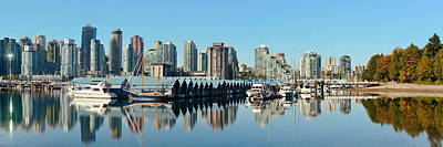 Photograph - Vancouver Downtown by Songquan Deng