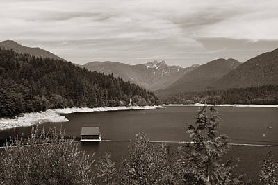Photograph - Vancouver Seymour Dam by Songquan Deng