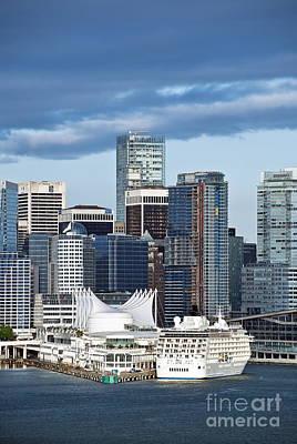 Vancouver Skyline Print by John Greim