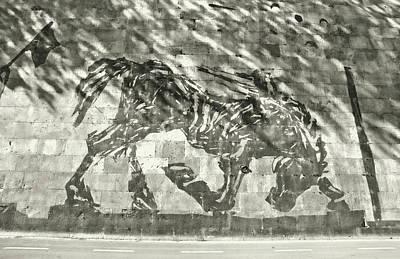 Photograph - Roman Vanishing Mural  by JAMART Photography