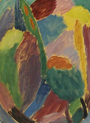 Munich Painting - Variation by Alexej von Jawlensky