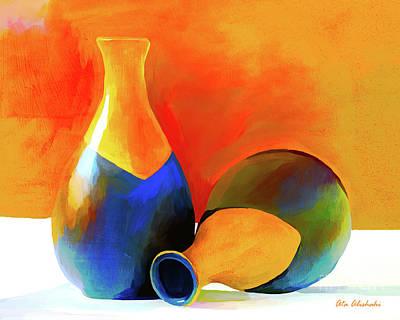 Painting - Vase by Ata Alishahi