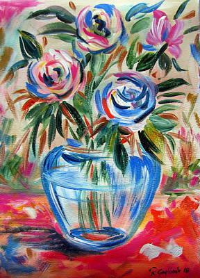 Painting - Vaso Di Fiori by Roberto Gagliardi