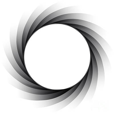Aperture Digital Art - Vector Aperture - Focus by Michal Boubin