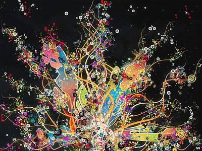 Pattern Digital Art - Vector by Maye Loeser
