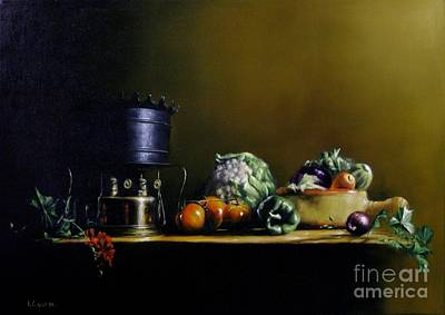 Painti Painting - Vegetables by Tony Calleja