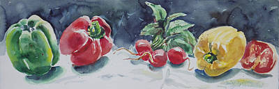Painting - Veggies by Ingrid Dohm