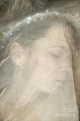 Veiled Princess Art Print