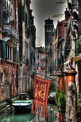 Venice Art Print by Andrea Barbieri