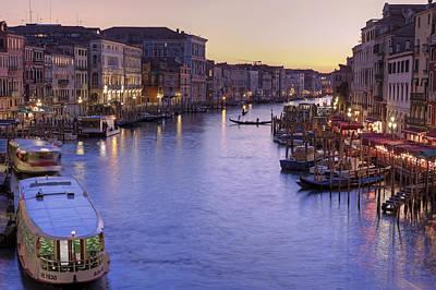 Veneto Photograph - Venice Canal Grande by Joana Kruse