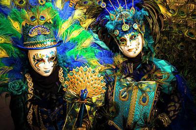 Carnival Photograph - Venice Carnival I '17 by Yuri Santin