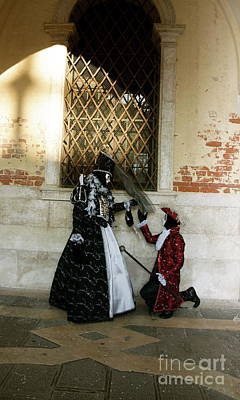 Photograph - Venice Carnival X by Louise Fahy