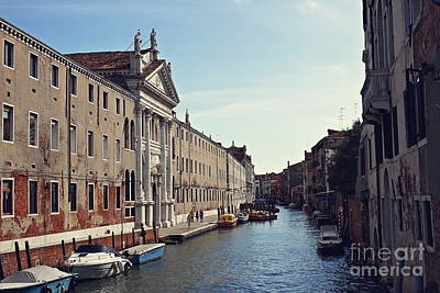 Photograph - Venice by Cendrine Marrouat