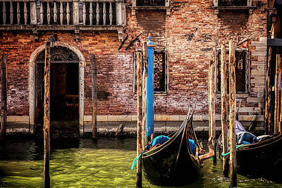 Photograph - Venice Entrance by Andrew Soundarajan