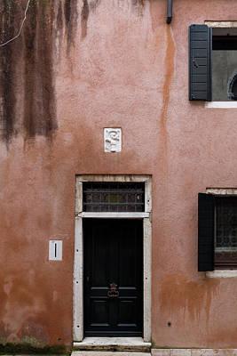 Photograph - Terracotta Venice House by Georgia Fowler