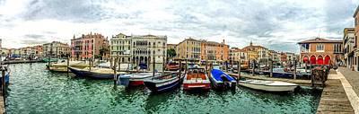 Photograph - Venice Italy Canal by Henri Irizarri