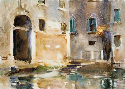 Drawing - Venice by John Singer Sargent