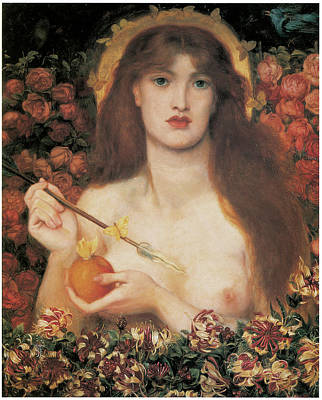Partial Nude Painting - Venus Verticordia by Dante Gabriel Rossetti