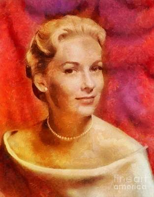 Kitchen Signs - Vera Miles, Vintage Hollywood Actress by Esoterica Art Agency