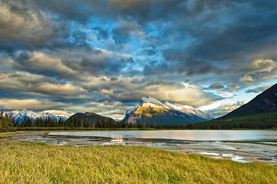Photograph - Vermilion Lakes by U Schade