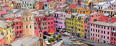 Photograph - Vernazza Panorama by Frozen in Time Fine Art Photography