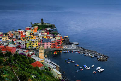 Photograph - Vernazza View by Andrew Soundarajan
