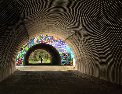 Photograph - Vernon Underpass Mural 569 by Phil Cardamone