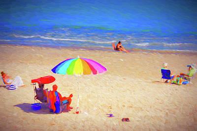 Vero Beach Art Print by Charles Haaland