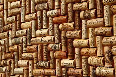 Rust Photograph - Vibrant Wines by Anthony Jones