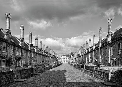 Photograph - Vicars Close by Shirley Mitchell