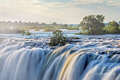 Zimbabwe Photograph - Victoria Falls by Delphimages Photo Creations