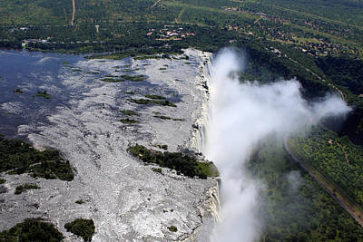 Photograph - Victoria Falls Southern Africa by Aidan Moran