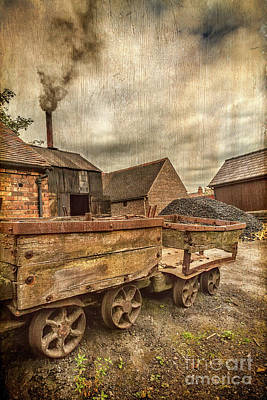 Victorian Colliery Art Print