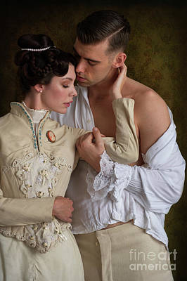 Photograph - Victorian Lovers by Lee Avison