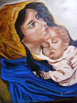 Vierge Et L'enfant Original