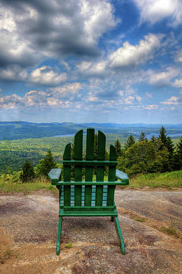 Photograph - View From Mccauley Mountain by David Patterson