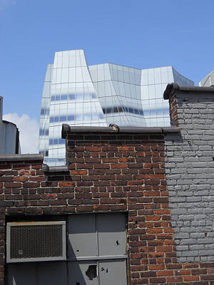 The Iac Building Photograph - View From The High Line by Jim Ramirez