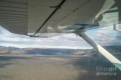 Photograph - View From Window Airplane by Patricia Hofmeester