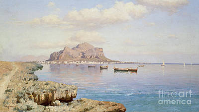 Nineteenth Century Painting - View Of Palermo by Francesco Lojacono