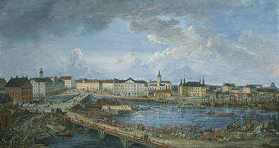 Painting - View Of Stockholm by Elias Martin