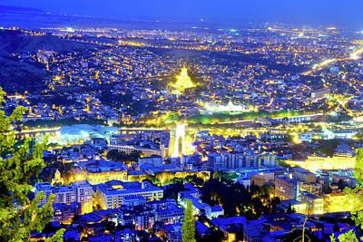 Photograph - View Of Tbilisi  by Fabrizio Troiani