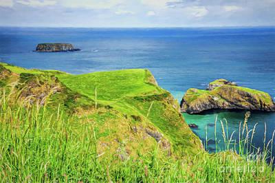 Photograph - View Of The Atlantic Ocean In Northern Ireland by Vizual Studio