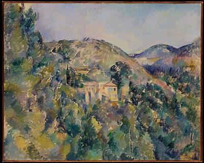 View Of The Domaine Saint-joseph Original by Paul Czanne