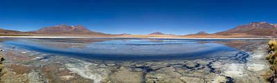 View Of The Laguna Charcota, Potosi Art Print