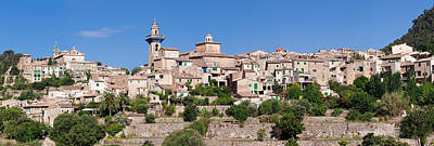 Majorca Photograph - View Of The Valldemossa, Majorca by Panoramic Images