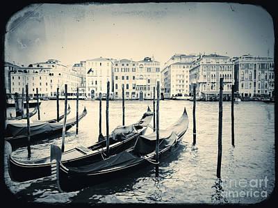 View Of Venice Art Print by A Cappellari